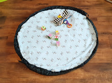 Load image into Gallery viewer, 'Lola' Toy Bag Play Mat (Large)
