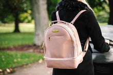 Load image into Gallery viewer, 'Pippa' Backpack Changing Bag (Pink)