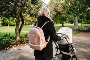 'Pippa' Backpack Changing Bag (Pink)
