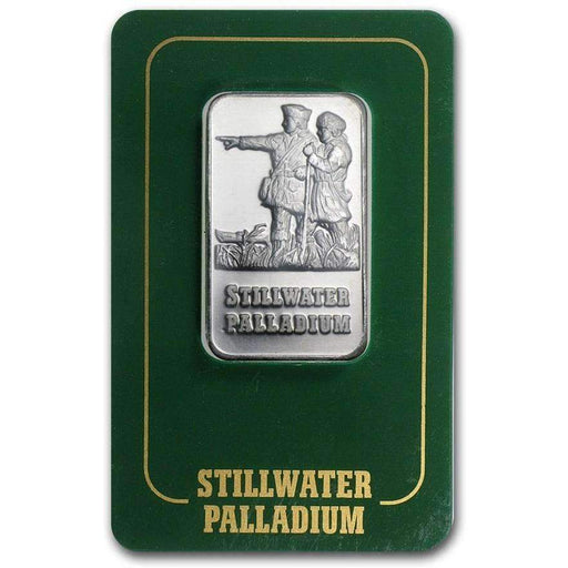 1 oz Palladium Bar - Johnson Matthey Lewis & Clark (In Assay) - HMint Precious Metals