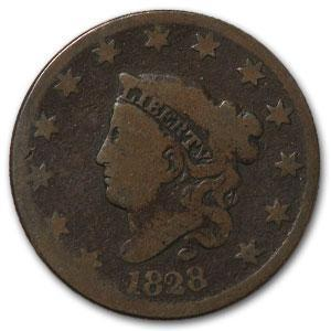 1828 Large Cent Large Date Good - HMint Precious Metals