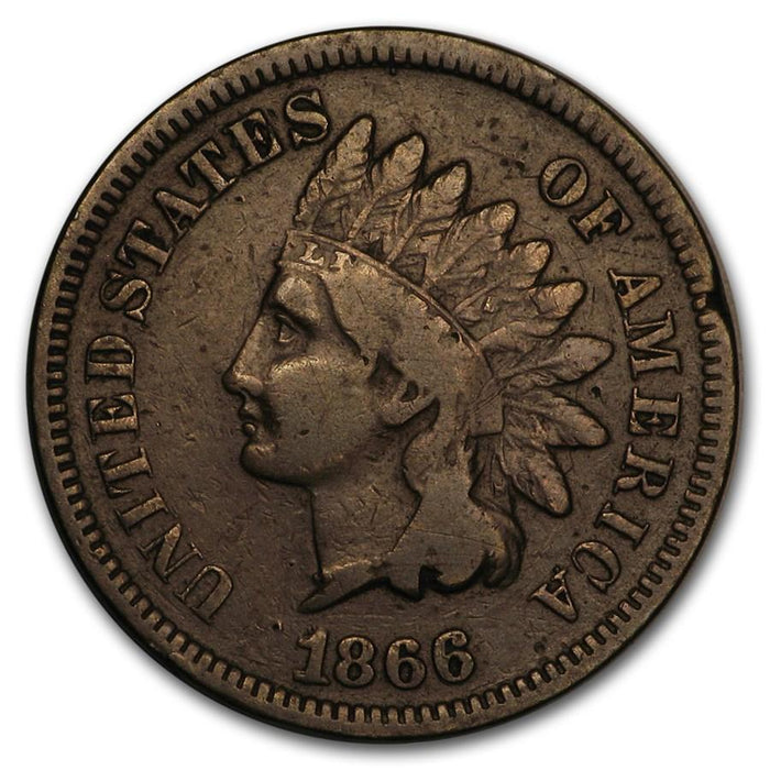 1866 Indian Head Cent Fine - HMint Precious Metals