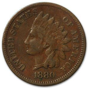 1880 Indian Head Cent VF - HMint Precious Metals