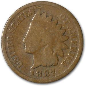 1887 Indian Head Cent Good - HMint Precious Metals