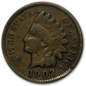 1902 Indian Head Cent Good - HMint Precious Metals