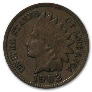 1902 Indian Head Cent VF - HMint Precious Metals