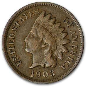 1903 Indian Head Cent VF - HMint Precious Metals