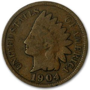 1904 Indian Head Cent Good - HMint Precious Metals