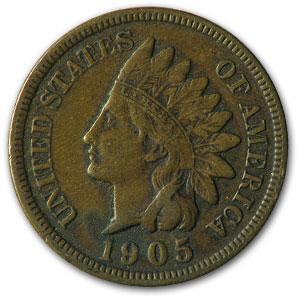 1905 Indian Head Cent VF - HMint Precious Metals