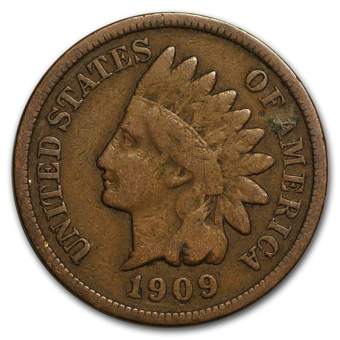 1909 Indian Head Cent Fine - HMint Precious Metals