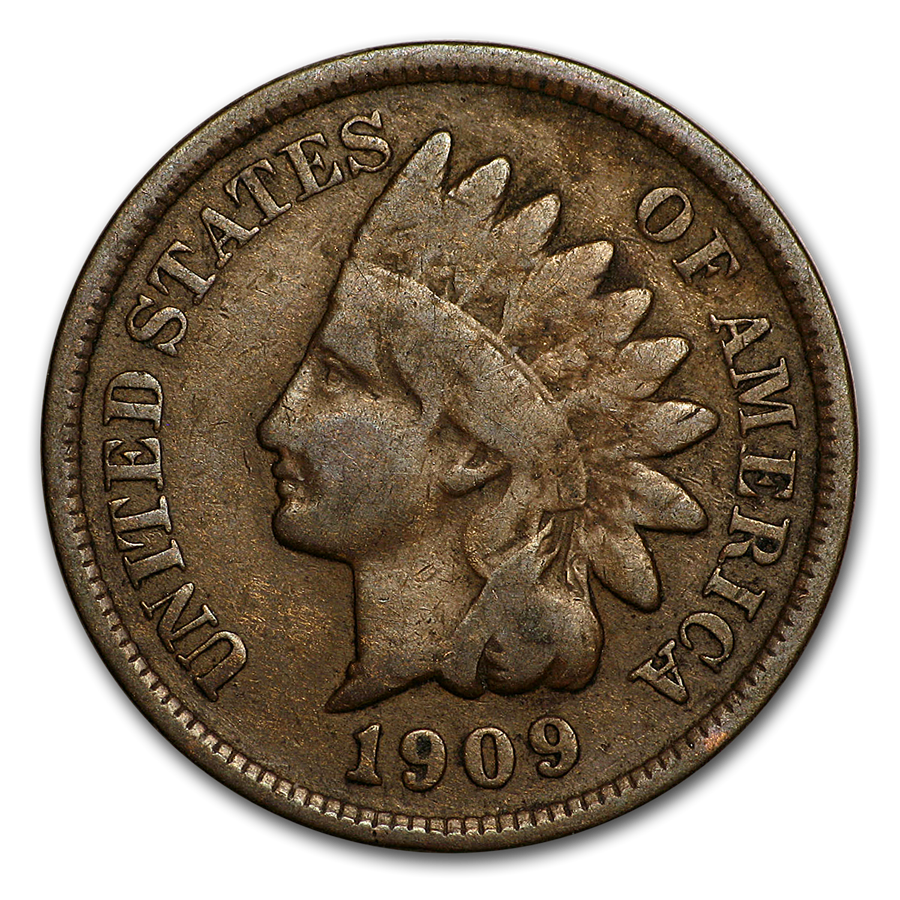 1909 Indian Head Cent Good/VG - HMint Precious Metals