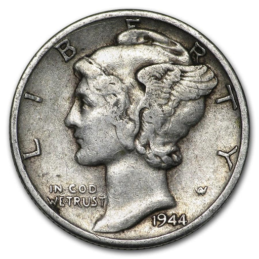 1944-D Mercury Dime Good/VF - HMint Precious Metals