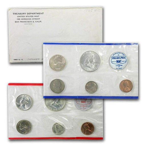 1962 United States Mint Set - HMint Precious Metals