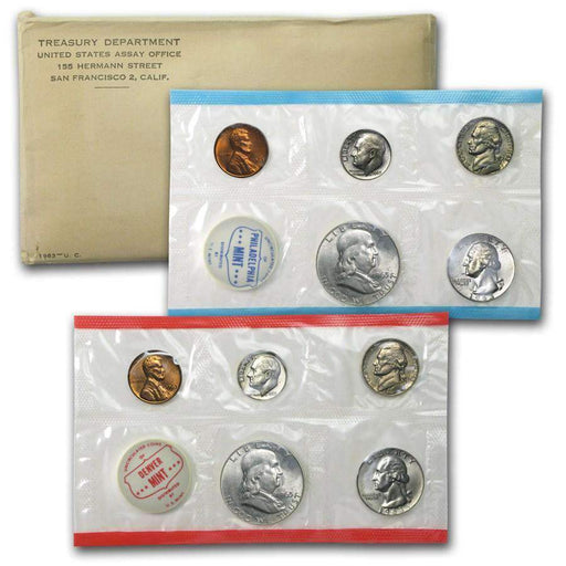 1963 United States Mint Set - HMint Precious Metals