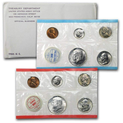 1964 United States Mint Set - HMint Precious Metals