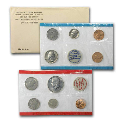 1968 United States Mint Set - HMint Precious Metals