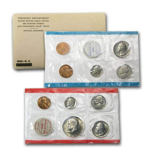 1969 United States Mint Set - HMint Precious Metals