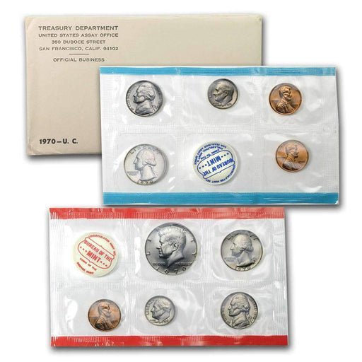 1970 United States Mint Set - HMint Precious Metals