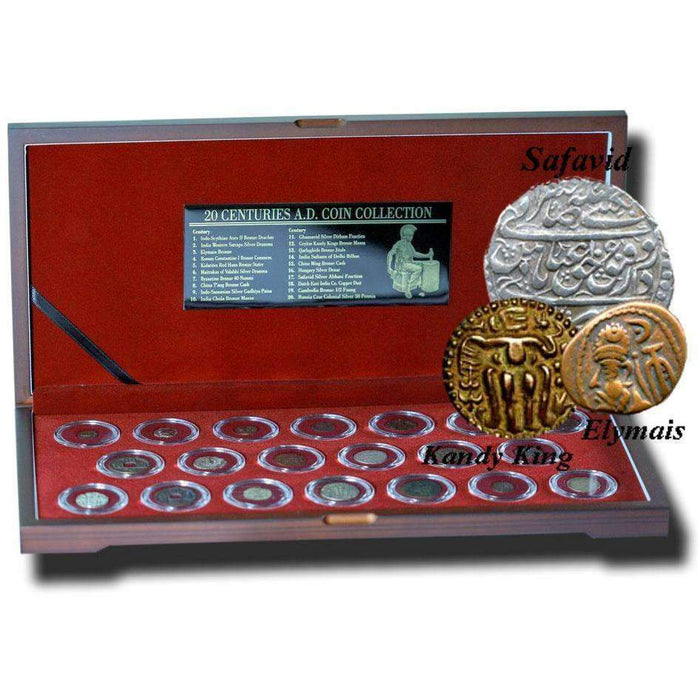 20 Coins from 20 Centuries Box: A Retrospective Collection - HMint Precious Metals