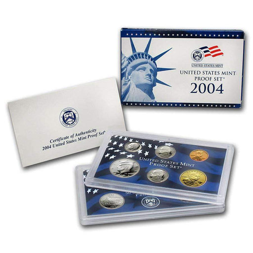 2004 United States Mint Proof Set - HMint Precious Metals