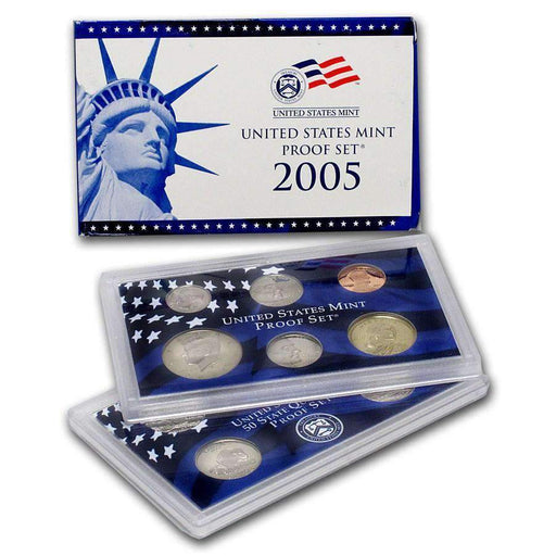 2005 United States Mint Proof Set - HMint Precious Metals