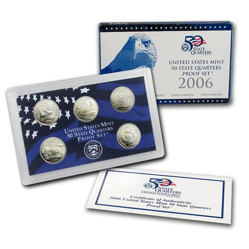 2006 United States Mint 50 State Quarters Proof Set - HMint Precious Metals