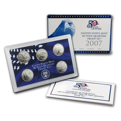 2007 United States Mint 50 State Quarters Proof Set - HMint Precious Metals