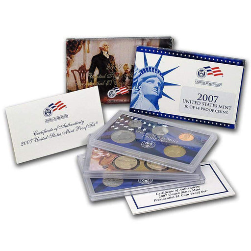 2007 United States Mint Proof Set - HMint Precious Metals