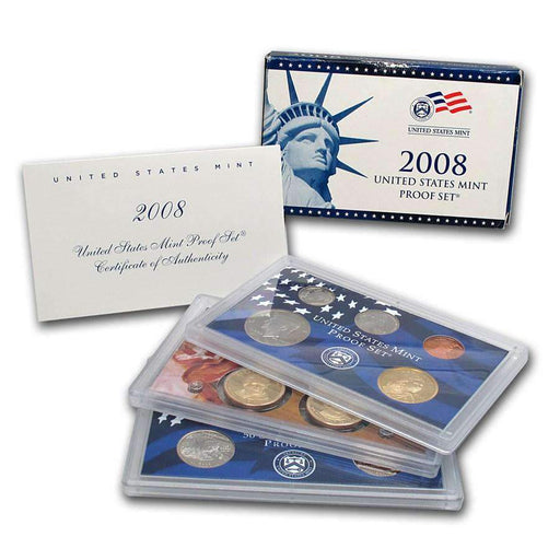 2008 United States Mint Proof Set - HMint Precious Metals