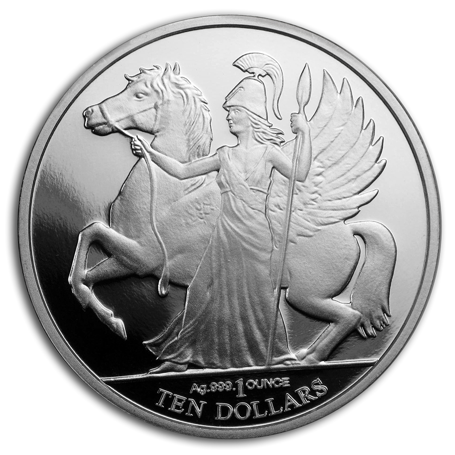 2017 British Virgin Islands 1 oz Silver Pegasus Proof - HMint Precious Metals