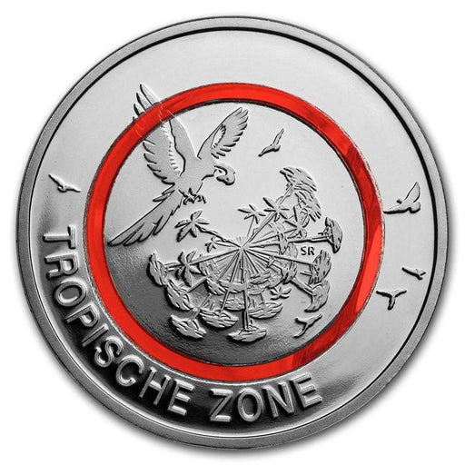 2017 Germany 5 Euro Tropical Climate Zone Proof (w/ Box) - HMint Precious Metals