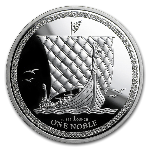 2017 Isle of Man 1 oz Silver Noble Proof - HMint Precious Metals