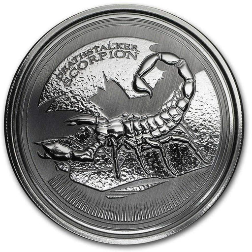 2017 Republic of Chad 1 oz Silver Deathstalker Scorpion BU - HMint Precious Metals