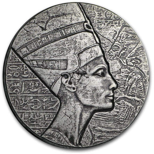 2017 Republic of Chad 5 oz Silver Queen Nefertiti - HMint Precious Metals