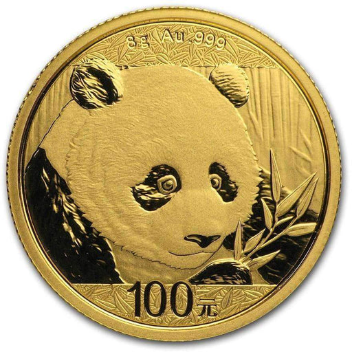 2018 China 8 gram Gold Panda BU (Sealed) - HMint Precious Metals