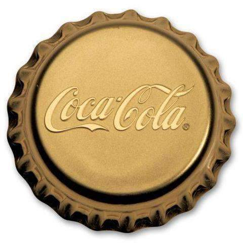 2018 Fiji 12 gram Gold $25 Coca-Cola Bottle Cap Proof - HMint Precious Metals