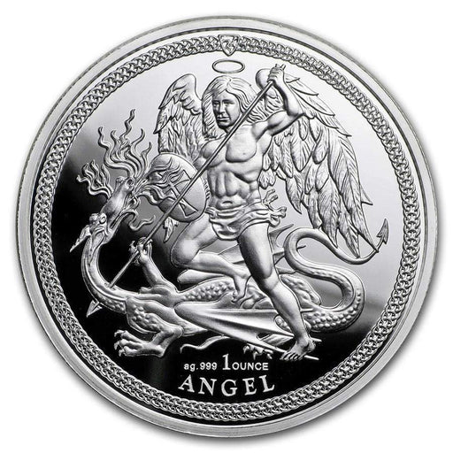 2018 Isle of Man 1 oz Silver Angel Proof - HMint Precious Metals