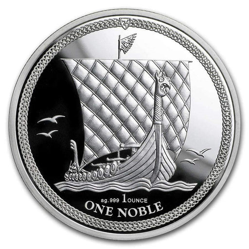 2018 Isle of Man 1 oz Silver Noble Proof - HMint Precious Metals