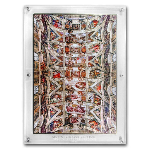 2018 Ivory Coast 1 kilo Silver Giants of Art Sistine Chapel - HMint Precious Metals