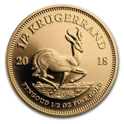 2018 South Africa 1/2 oz Proof Gold Krugerrand - HMint Precious Metals
