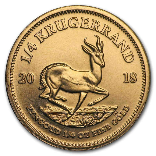 2018 South Africa 1/4 oz Gold Krugerrand - HMint Precious Metals