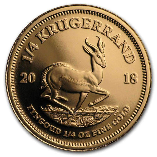 2018 South Africa 1/4 oz Proof Gold Krugerrand - HMint Precious Metals
