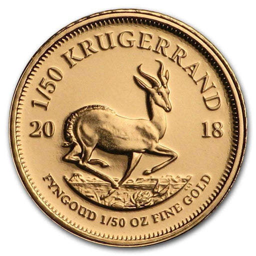 2018 South Africa 1/50 oz Proof Gold Krugerrand - HMint Precious Metals