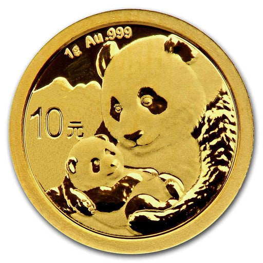 2019 China 1 gram Gold Panda BU (Sealed) - HMint Precious Metals