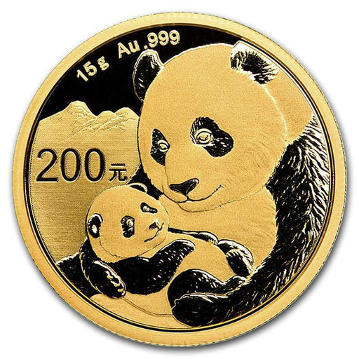 2019 China 15 gram Gold Panda BU (Sealed) - HMint Precious Metals