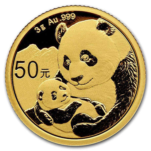2019 China 3 gram Gold Panda BU (Sealed) - HMint Precious Metals