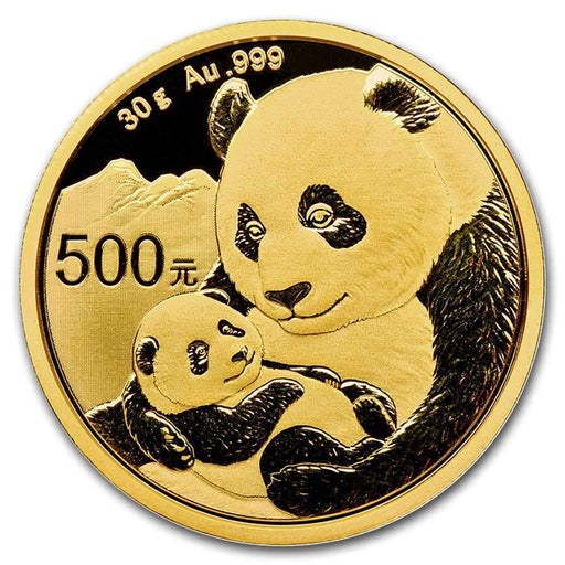 2019 China 30 gram Gold Panda BU (Sealed) - HMint Precious Metals