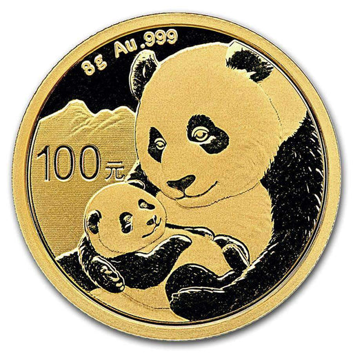 2019 China 8 gram Gold Panda BU (Sealed) - HMint Precious Metals