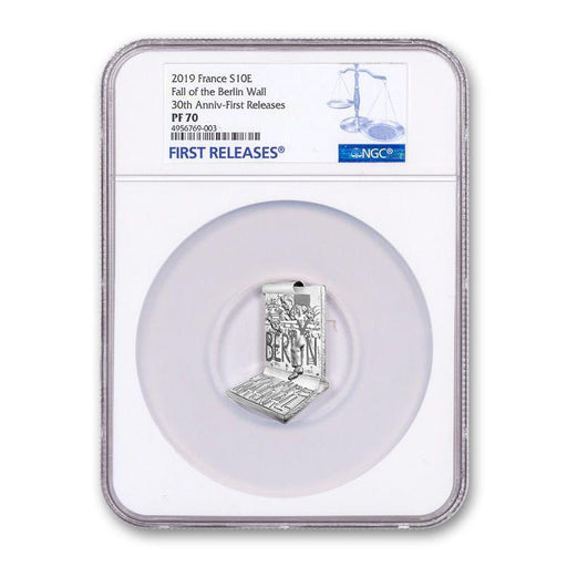 2019 France Silver Fall of the Berlin Wall NGC PF-70 (First Releases) - HMint Precious Metals