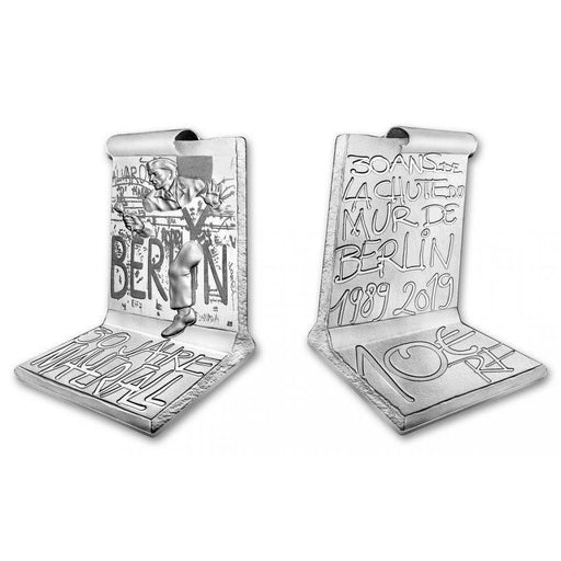 2019 France Silver Fall of the Berlin Wall Proof - HMint Precious Metals